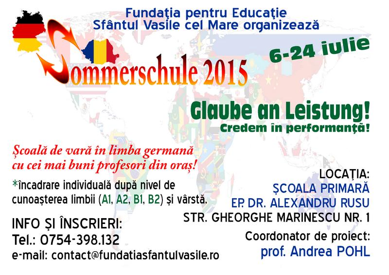 Sommerschule 2015